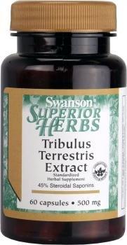 Extracto de Tribulus Terrestris 500 mg 60 Caps