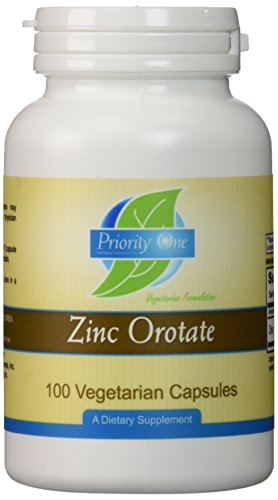 Prioridad uno vitaminas - orotato de Zinc 100 caps [salud y belleza]