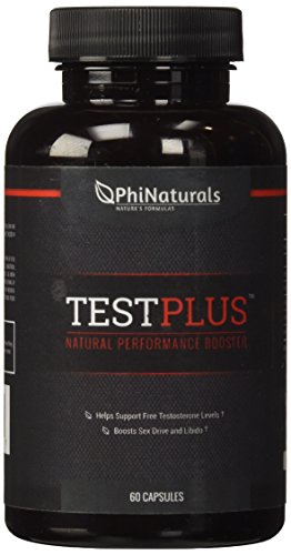 TestPlus - suplemento de Booster de testosterona para hombres con alholva, Indonesia Tongkat Ali, Tribulus Terrestris, Cordyceps Sinesis y Ginseng siberiano. (Combinación de mano de obra)