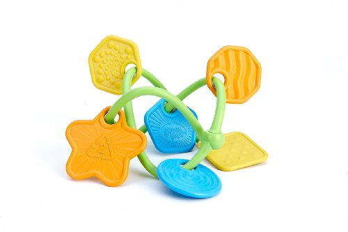 Juguete Mordedor de juguetes verde Twist