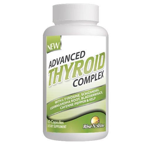 Complejo de tiroides avanzado - Natural fórmula soporta la función de la tiroides saludable