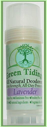 Verde buenas noticias todo Desodorante Natural * fuerza adicional, todo día protección * 2,7 oz lavanda