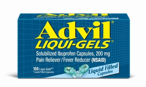Advil Liqui-gel, 200 mg, 160 cuenta caja
