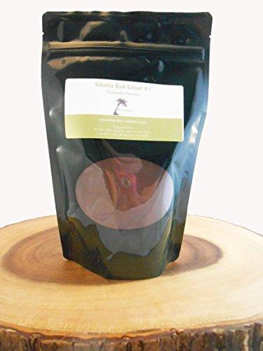 Corteza de Yohimbe Extracto 4:1 polvo 1 onza o 28g (Corynanthe Yohimbe)