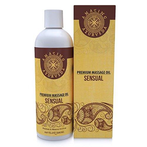 Increíble Ayurveda Premium masaje aceite Sensual 6.8 fl.oz