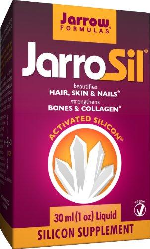 Jarrow Formulas JarroSil, embellece cabello, piel y uñas, activado silicio, 4 mg/10 gotas