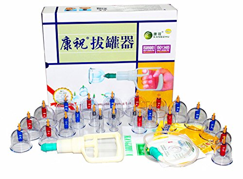 Establecer Kangzhu 24-Copa Biomagnético chino terapia de ahuecamiento
