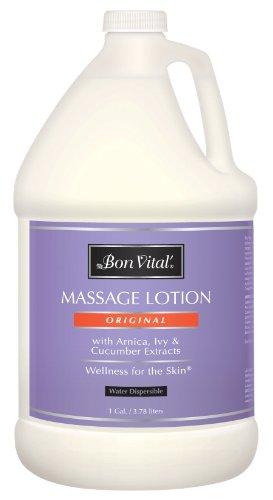 Bon Vital Original loción del masaje, botella de 1 galón