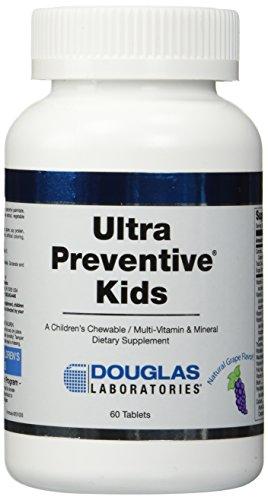 Laboratorios Douglas - preventiva Ultra Kids uva 60 Tabs