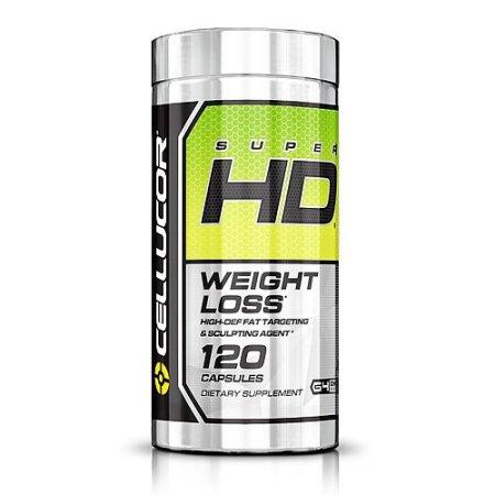 CELLUCOR Super HD Pérdida de peso Quemador de grasa 120 cápsulas