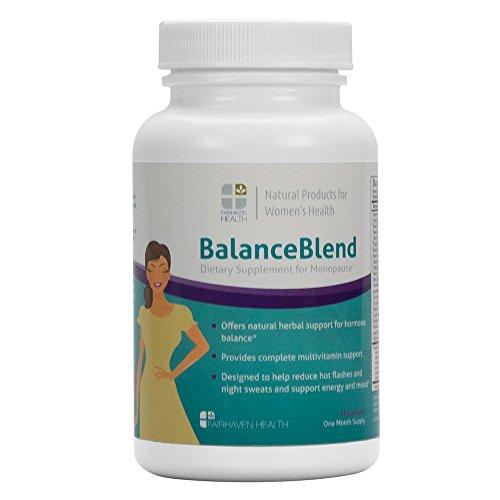 Mezcla de equilibrio para el alivio de la menopausia y apoyo