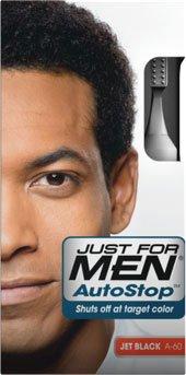 SOLO para hombres Color del pelo de Autostop, Jet negro 3,8 onzas lote de 3 cajas