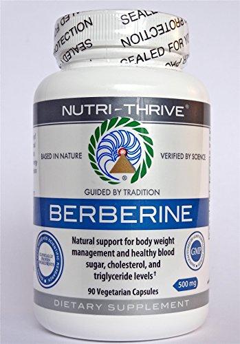 Clínicamente probado Berberine - 500 Mg, 90 cápsulas vegetarianas