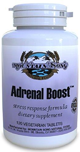 Impulso estrés suprarrenal Adrenal Support Formula respuesta-de gran alcance con hierbas adaptogénicas ayuda a combatir la Fatiga Adrenal. Extractos de Rhodiola, Ashwaganda y Eleuthero ayudan apoyo función suprarrenal sana