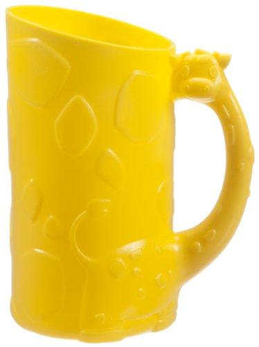 Jirafa de Munchkin champú a enjuagadora, amarillo