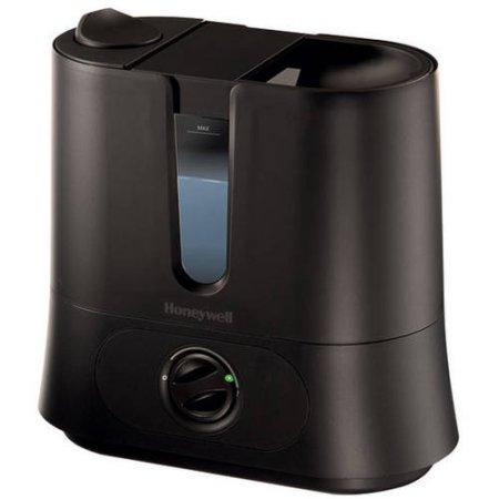 Honeywell fáciles de cuidar extraíble Top Rellena humidificador ultrasónico, Negro, HUL570B