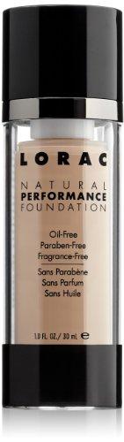 LORAC rendimiento Natural Fundación, NP3 ligero/medio, 1 FL. oz.