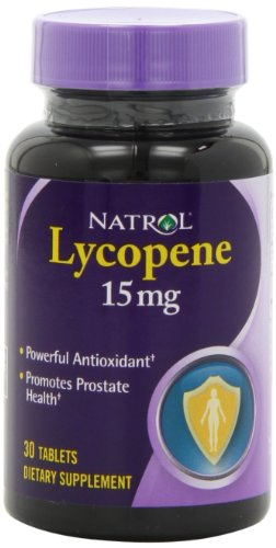 Natrol licopeno tabletas de 15mg, 30-Count (paquete de 2)