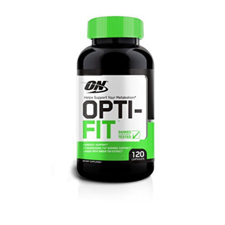 OPTIMUM NUTRITION Opti-fit termogénico Metabolismo 120 Tabletas