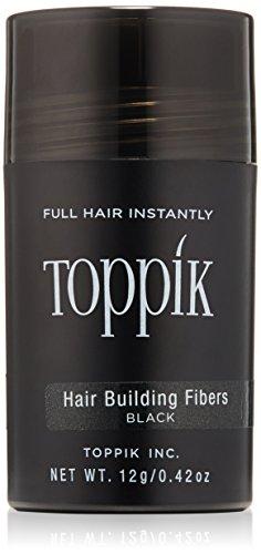 Las fibras de TOPPIK cabello edificio, negro, 0,42 oz.