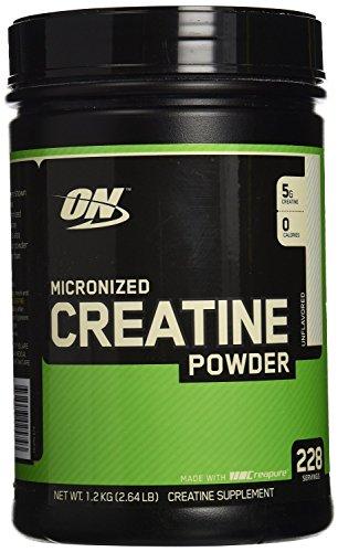 La nutrición óptima micronizado de creatina en polvo - 1200 g
