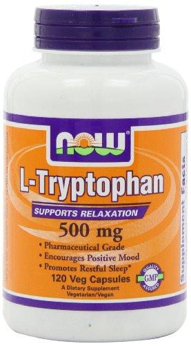 AHORA alimentos L-triptófano 500mg, 120 Vcaps
