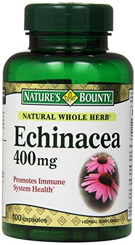 Recompensa Echinacea de la naturaleza 400 Mg., 100 cápsulas