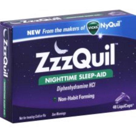 ZzzQuil sueño nocturno-Aid LiquiCaps 48 LiquiCaps (paquete de 3)
