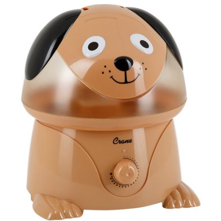 Adorable grúa por ultrasonidos humidificador de vapor frío - Perro