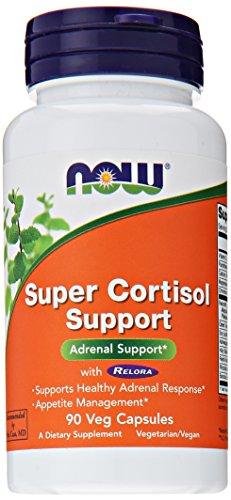 AHORA alimentos Super apoyo de Cortisol, 90 Vcaps