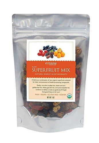 Superfrutas crudo mezcla orgánica extrema salud USA bolsa de 5oz