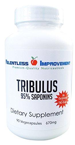 Tribulus (libre de THC). 750 mg x 90 vegecaps 95% extracto. 95% saponinas 0% protodioscina. Baja dosis + alta potencia = resultados reales NO rellenos.