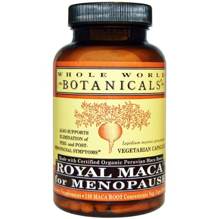 Whole World Botanicals Botanicals hierbas orgánicas Real Maca 180 Cápsulas