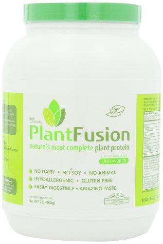 PlantFusion dieta suplemento, Natural sin sabor, 2 libras