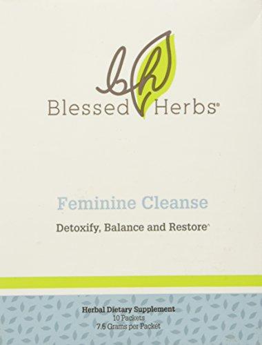 Bendito hierbas femenino limpia, 7,5 gramos por paquete