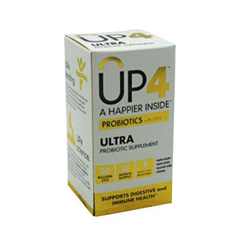 UAS laboratorios UP4 probióticos, DDS1 Ultra, Vegi 60 cápsulas