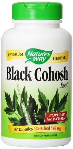 Forma raíz de Cohosh negro de la naturaleza, 540 mg, cápsula 180