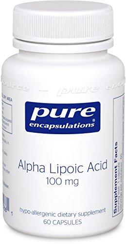 Puros encapsulados - alfa lipoico ácido 100mg 60 VegiCaps