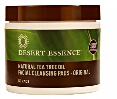 Desierto esencia Natural té árbol de aceite Facial Limpieza pastillas Original, cuenta 50