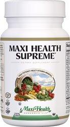 Supremo de salud Maxi - suplemento multivitamínico y Mineral de alta potencia, cuenta 360