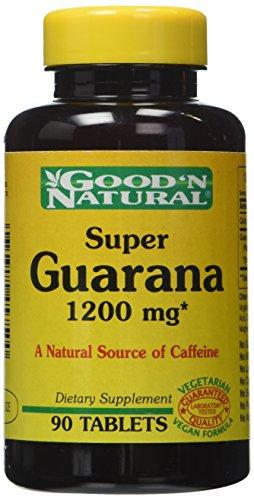 Buena y Natural, Super Guarana 1200 mg, 90 tabletas