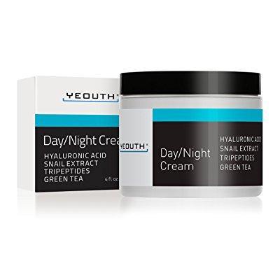 crema hidratante día noche para la cara con extracto de caracol el ácido hialurónico el té verde y los péptidos anti crema