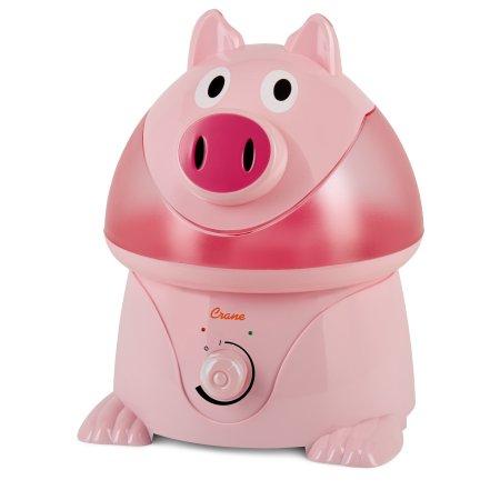 Adorable grúa por ultrasonidos humidificador de vapor frío - cerdo