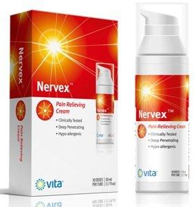 Alivio del dolor de la neuropatía - tratamiento del dolor Nervex - Vita Ciencias de crema 50ml