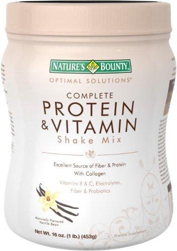 Recompensa proteína Shake Mix de la naturaleza, vainilla, 16 onzas