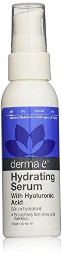 Derma e ácido hialurónico rehidratación suero, envases pueden variar, 2 onzas (60 ml)