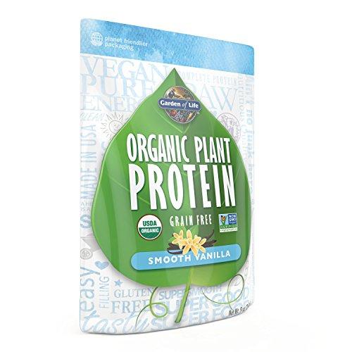 Jardín de vida orgánico fitoproteína, suave vainilla, 258 gramos