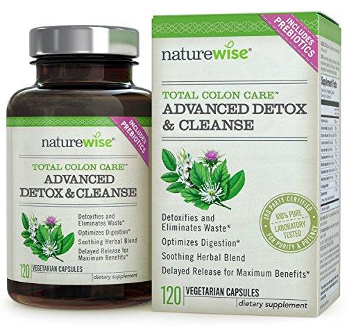 Total Colon Care: Avanzados de desintoxicación y limpieza con enzimas digestivas para la salud del Colon y pérdida de peso, fuente de 30 a 60 días, 120 Caps