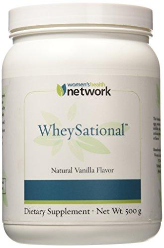 De las mujeres salud red WheySational suero proteína en polvo, vainilla Natural, 1,1 libras