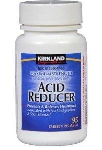 Máximo Srength ácido reductor ranitidina 150mg/95 comprimidos-en comparación con Zantac 150 ®